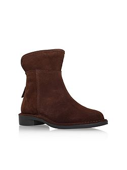 Ted flat ankle boots