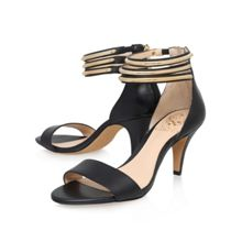 Misha high heel ankle strap sandals