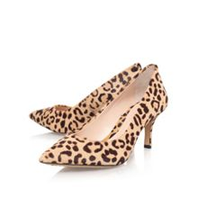 Vince Camuto Vivienne2 mid heel printed court shoes