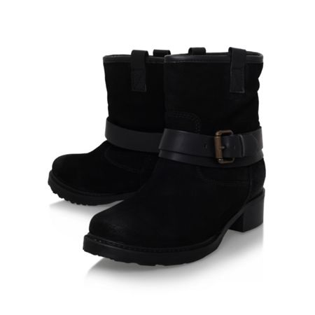 Carvela Trust low heel buckle detail ankle boots