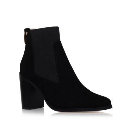 Kurt Geiger Dellow mid heel ankle boots