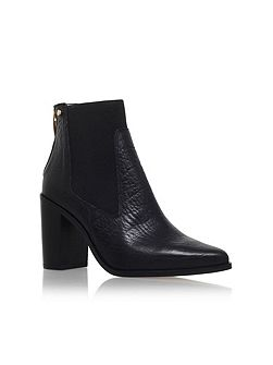 Dellow high heel ankle boots