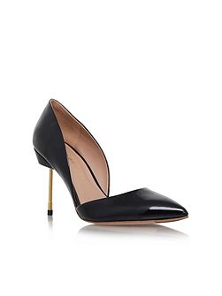 Kurt Geiger Beaumont high heel court shoes