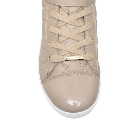 DKNY Betty flat lace up trainer boots