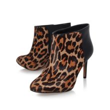 Valid5 high heel print shoe boot