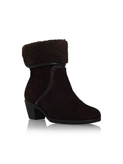 Robin boots with ankle cuff