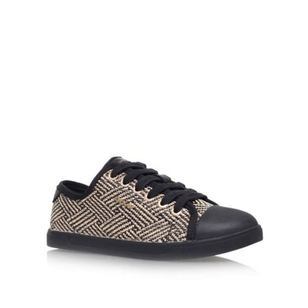 DKNY Blair flat lace up trainers