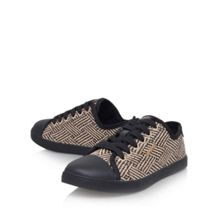 Blair flat lace up trainers