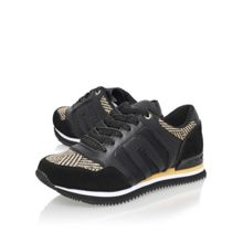 Jill flat lace up trainers