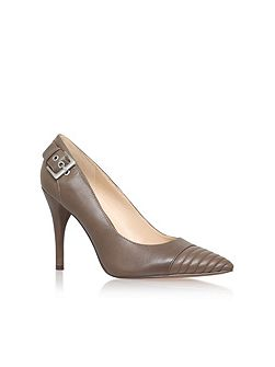 Nine West Firedup grey high heel court shoes