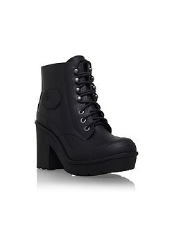 Original bullseye lace up ankle boots