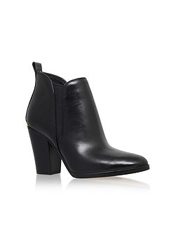 Brandy block heel ankle boots