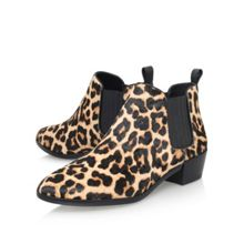 Michael Kors Shaw flat pull on printed ankle boots