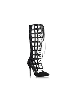 Carvela Grip high heel lace up sandals