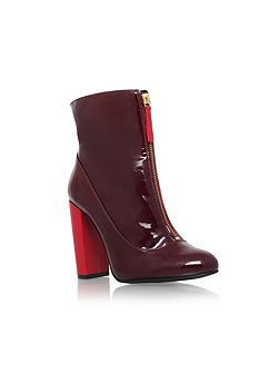 Stephan zip up ankle boots