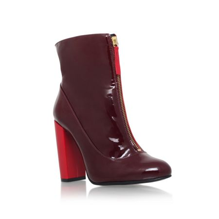 Carvela Stephan zip up ankle boots