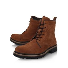 Howard suede lace up boots