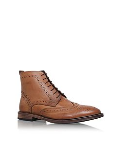 Boston lace up brogue boots