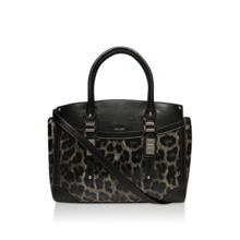 Nine West Flip lock satchel bag