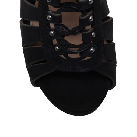 Vince Camuto Fionna high heel lace up shoeboots