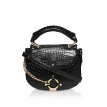 Carvela Char saddle bag