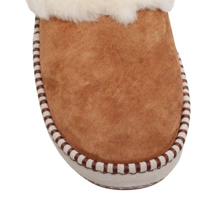 UGG Wrin flat fur lined slippers
