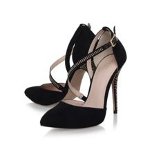 Lucy high heel court shoes