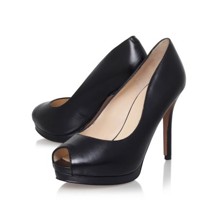 Nine West Firstbase peep toe court shoes