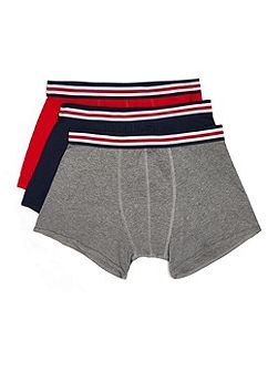 Assorted Colour 3 Pack Trunks