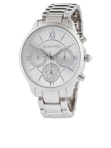 Accessorize Crystal sports watch