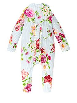 Baby Girls Newborn Rosie Sleepsuit & Bib
