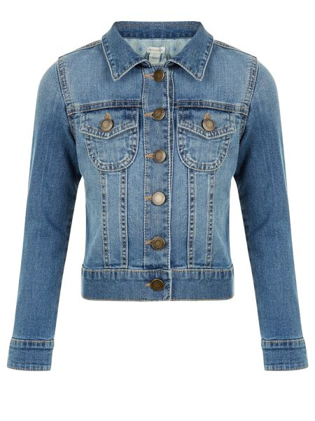 Monsoon Girls Mandy Denim Jacket