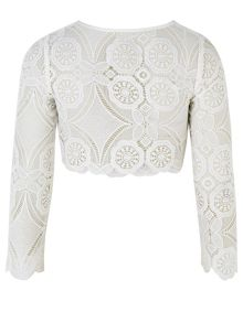 Monsoon Girls Lacey Jacket