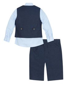 Monsoon Boys Lionel 4 piece Linen Suit