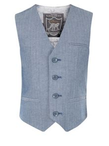 Monsoon Boys Harvey Smart Waistcoat