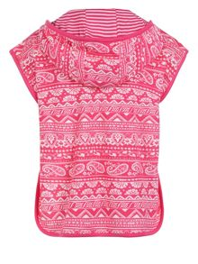 Monsoon Baby Girls Ziani Towelling Coverup