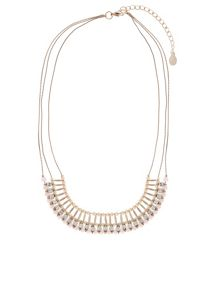 Accessorize Mini sarah stone collar necklace
