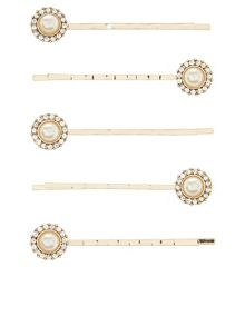 Accessorize 5 x ruchi pearl hair clips