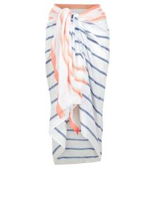 Accessorize Beach stripe sarong