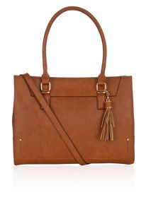 Accessorize Eliza tassel shoulder bag