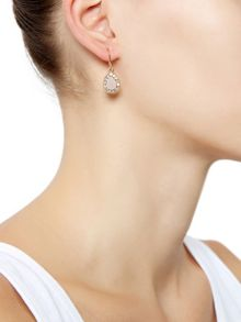 Accessorize Teardrop devina short drop earrings