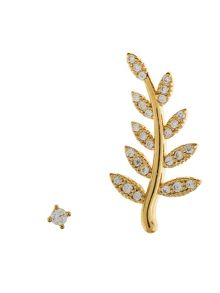 Accessorize Delicate vine ear cuff set