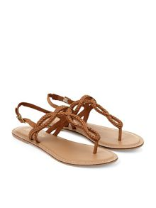 Accessorize Luna plait sandal