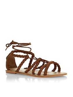 Maddox lace up sandals