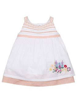 Baby Girls Newborn Dress & Body 2In1