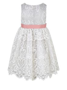 Monsoon Girls Elizabeth Lace Dress