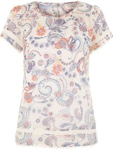 Monsoon Matilda Print Top