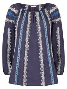 Monsoon Monty Embroidered Blouse