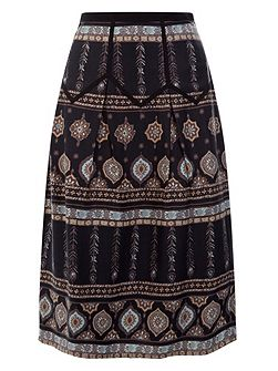 Letitica Printed Skirt