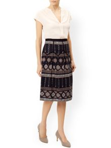 Monsoon Letitica Printed Skirt